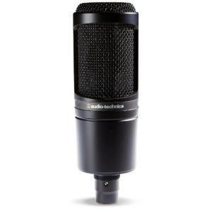 Audio-Technica AT2020 Cardioid Condenser Studio Microphone