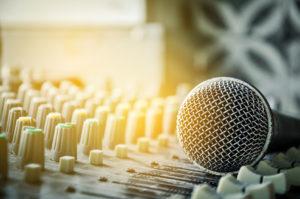 studio mic center